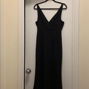 """Lulus Black """"Melora"""" Trumpet Style Gown"""